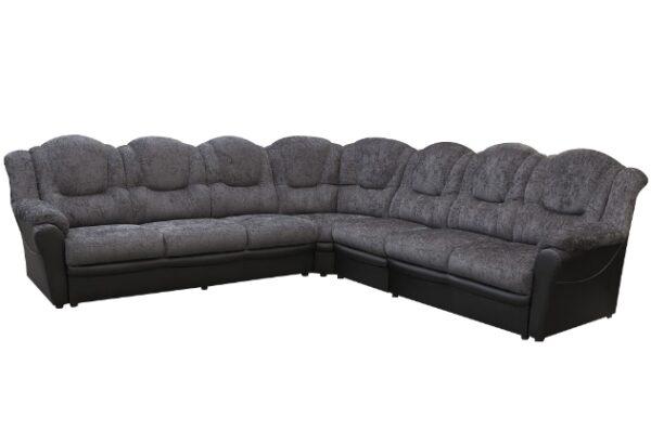 Texas 3CR3 Grey/Black Fabric