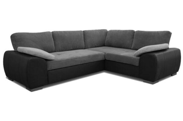 Enduro Right Corner Sofa Bed Graphite